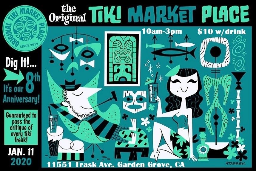 Original Tiki Marketplace Derek 1-2020
